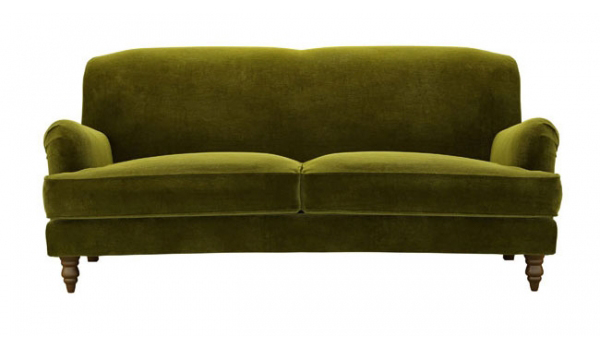 Ode to moss home i love you for Moss green sectional sofa